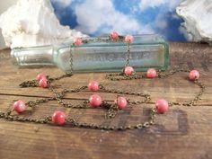 Bohemian Stone Necklace  by MySoulCanDance.etsy.com