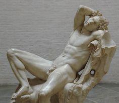 Unknown, c. 220 B.C.E. Barberini Faun - Glyptothek, Munich; Photo_ Bibi Saint-Pol, 2007
