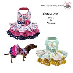 Gorgeous Ruffles in puffy tiers are the focal point on this amazing dress for your little princess!!! Dress A, features a sash & a flower in the waist and 3 ruffles tiers. Dress B, features a bow in the bodice and 2 super gathered ruffles. Bodice is complete lined and can be made