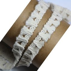1/2 Inches 1/5CM Cotton Lace Tassel Fringe Lace Trim For DIY Craft Supply In Beige Pack of 10 Yards ** Want additional info? Click on the image.