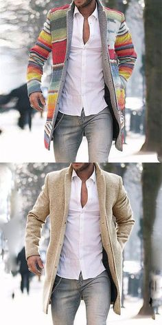 Men winter fashion 720364902884609298 - Men's casual and comfortable coats for fall and winter, vintage style and modern fashion style you can option. 2020 fall winter fashion trends clothes, shop now! Mens Fashion Wear, Suit Fashion, Fashion Coat, Jackets Fashion, Mode Man, Designer Suits For Men, Stylish Mens Outfits, Herren Outfit, Mens Clothing Styles