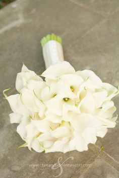 Calla Lily Boquet - simple and clean