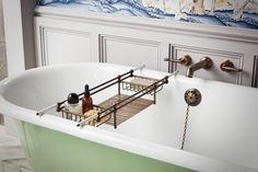 A Case for Antique Brushed Brass | Drummonds Bathrooms