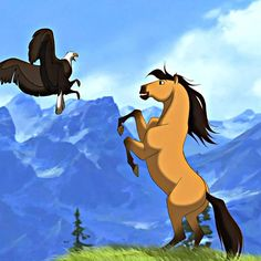 Spirit: Stallion of the Cimarron | 21 Non-Disney Animated Movies You Have To See ASAP | I forgot all about this movie!! I LOOOOOOOVE IT!!