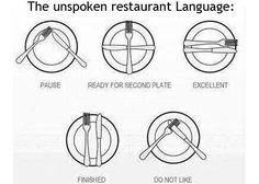 Learn The Unspoken Language of Restaurants