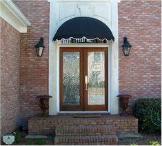 Canvas Door Canopy | Easyawn Dome Canvas Window or Door Awning Canopy | eBay