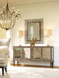 Melange mirrored console to bring some bling to your life! Would you like to win this?