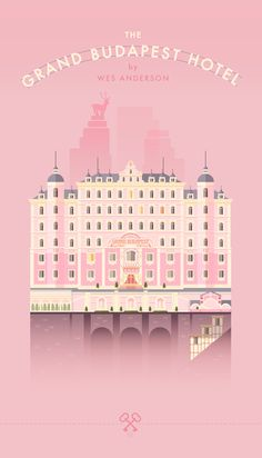 The Grand Budapest Hotel | #movieposter #design #thegrandbudapesthotel