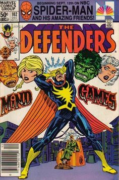 Defenders # 102 by Al Milgrom