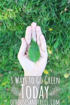 Being green isn't about being perfect. It's about trying to do a little bit better every day. Here are three simple things you can do to get started! Sustainable Design, Sustainable Living, Simple Things, Simple Way, Green Living Tips, Recycling Center, Room To Grow, Health And Wellbeing, Healthy Mind