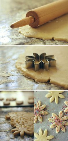 Sugar Cookie recipe because I need more sugar cookies in my life.