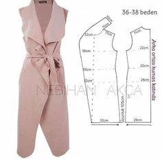 Amazing Sewing Patterns Clone Your Clothes Ideas. Enchanting Sewing Patterns Clone Your Clothes Ideas. Sewing Dress, Sewing Pants, Dress Sewing Patterns, Sewing Clothes, Clothing Patterns, Diy Clothes, Kimono Pattern, Collar Pattern, Make Your Own Clothes