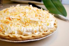 White Chocolate Triple Coconut Cream Pie by What's Cookin Chicago