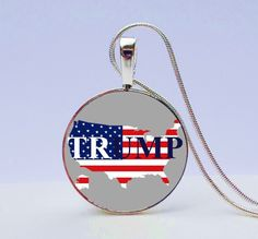 Donald Trump Necklace - Trump for President - Trump jewelry- Jewelry Gift for Trump fan -Trump Fan Necklace-Donald Trump Pendant by GirlPowerPendants on Etsy https://www.etsy.com/listing/246359045/donald-trump-necklace-trump-for