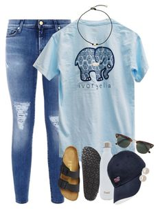 """ugh my sets suck comment some ways I should improve"" by smbprep ❤ liked on Polyvore featuring 7 For All Mankind, Birkenstock, Kendra Scott, S'well, Vineyard Vines, Ray-Ban and Honora"