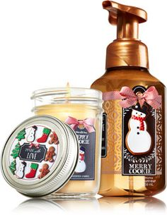 Merry Cookie Holiday Scents & Suds - Signature Collection - Bath & Body Works