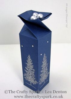 Lovely As a Tree Twist Top Box - just right for Ferrero Rocher