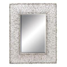 Aspire Home Accents 54307 42 Artsy Metal (Grey) Wall Mirror