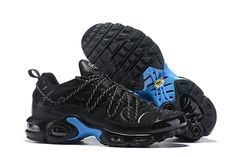 f7d2b3c4a8 Drake Reveals A Custom Nike Air Max Plus For Stage Use Black Blue Men's  Running Shoes Sneakers