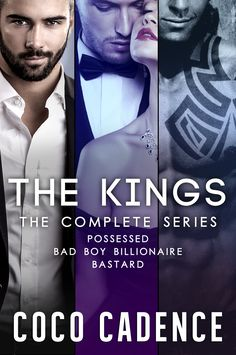 The Kings - Boxed Set by Coco Cadence. Sexy Billionaire Boxed Set. $0.99 http://www.ebooksoda.com/ebook-deals/the-kings-boxed-set-by-coco-cadence