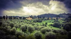 A view of the Tuscan countryside from the top of the Boboli Gardens #Florence #BoboliGardens #Firenze #Photography