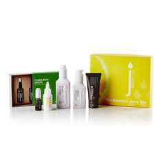 The Essential Juice box, contains the healthy natural daily skin diet from Skin Juice. 5 Full size skin care products and a coconut juice splash hair treatment. RRP $190AU The Essential, Juice, Coconut, Essentials, Skin Care, Diet, Natural, Box, Healthy