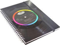 Weiteres - ♫ Notizbuch Schallplatte BOB SEGER Vinyl,retro - ein Designerstück von Aurum bei DaWanda