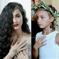 #mother#tallhair#hairstyle #hairstyles#curly#turkishbeauty#turkishactress Creative Pictures, Pixie, Curly Hair Styles, Crown, Actors, Hairstyles, Fashion, Indoor Plants, Style
