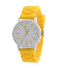 Mance Hot Sale 14 Color Silicone Rubber Jelly Gel Quartz Analog Fashion Sports Women Girl Wrist Watch Unisex relogio feminino