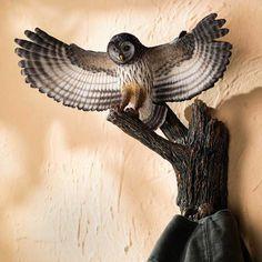 Barred Owl Wall Sculpture