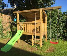 Kids outdoor play fort