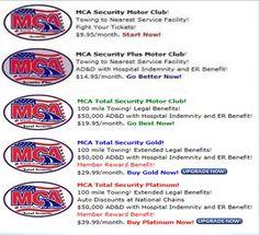 MCA New Benefits 09/2012