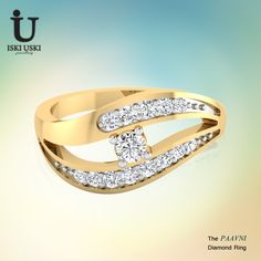 Shop Diamond Ring Online from IskiUski.com. Buy latest #designs on #rings, #pendants, #earrings, #bangles, #necklaces and much more!!.