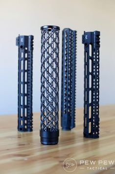We'll compare the #handguards in terms of weight, strength, and price. Here is a list of lightweight handguards we'll compare: Lancer Lightweight Carbon Fiber ($225) Faxon Streamline Carbon Fiber ($300) Midwest Industries Lightweight M-LOK ($190) Bravo Company KMR Alpha ($190) Brigand Arms Carbon Fiber Braid ($230-350)