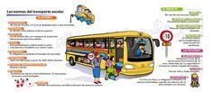 Interesante información del bus del cole
