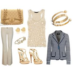 girls night out...my first outfit on polyvore
