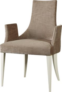 After the French Revolution, the curved back directoire chair spoke the language…