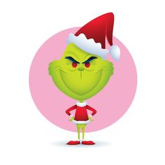 The Grinch designed by Jerrod Maruyama. Connect with them on Dribbble; Cartoon Memes, Cute Cartoon, Cartoon Characters, Cartoons, Grinch Stole Christmas, Christmas Art, Cute Disney, Disney Art, Chibi Disney