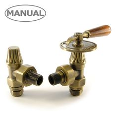 Abbey manual lever valve and lock-shield