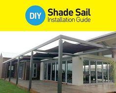 Shade Sails - DIY Pre-made & Custom | eBay