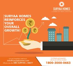 A #home at #SuryaaHomes facilitates growth of all kinds with immense gratification!