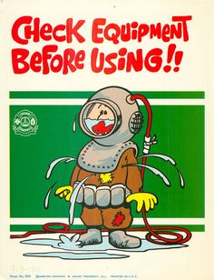 Vintage Work Safety Poster Sears Workplace by vintagegoodness