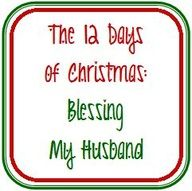 SUCH a cute idea! 12 Days of Christmas gifts for the hubs.