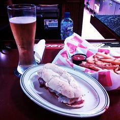 Enjoying LaRosa's in Jackson, OH  Photo by ryanretartha