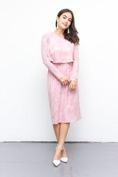 Ari Dusty Pink Dress