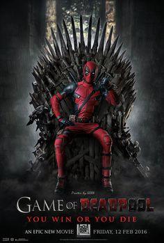 #Deadpool #Fan #Art. (Game of Deadpool) By: GOXIII. (THE * 5 * STÅR * ÅWARD * OF: * AW YEAH, IT'S MAJOR ÅWESOMENESS!!!™) ÅÅÅ+ 6. 4.