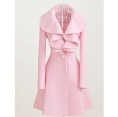 lovely pink peacoat