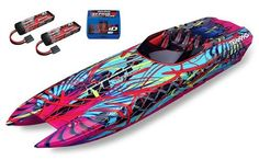 Traxxas DCB M41 Widebody Catamaran W/Batteries and Charger – Mikes RC Vehicles