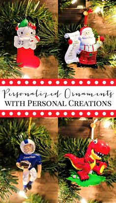 There are Personalized Ornaments for EVERYONE on your list this year at @pcgifts! AD #PersonalizationInspiration