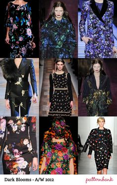 Catwalk Print Trends   Autumn/Winter 2012 Part 1 | trend forecasts catwalks
